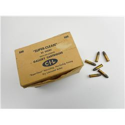 "CIL SUPER-CLEAN 22 SHORT GALLERY AMMO ""RARE"""
