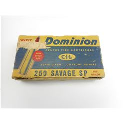 DOMINION 250 SAVAGE SP AMMO