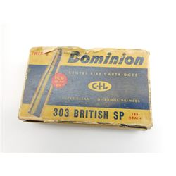 DOMINION 303 BRITISH SP AMMO