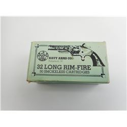 NAVY ARMS 32 LONG RIM-FIRE AMMO