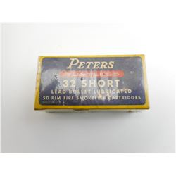 PETERS 32 SHORT AMMO
