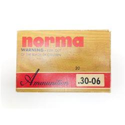 NORMA 30-06 AMMO, BRASS