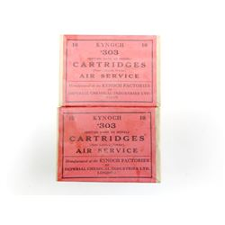KYNOCH .303 CARTRIDGES, AIR SERVICE AMMO