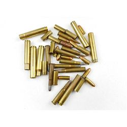 ASSORTED AMMO AND BRASS