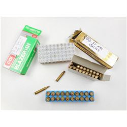RWS 5.6 X 50 MAG AMMO & BRASS, CCI 38 SPL ONCE FIRED CASES, IMI 50 ACTION EXRESS BRASS
