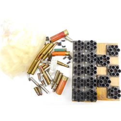 ASSORTED AMMO AND RELOADING