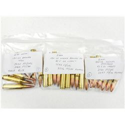 ASSORTED 8 MM & 270 WSM RELOADS