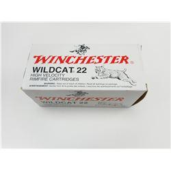 WINCHESTER WILDCAT 22 HIGH VELOCITY AMMO
