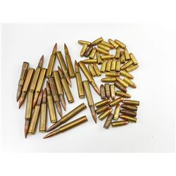 9MM DRILL ROUNDS AMMO, 9MM LOOSE, 30-06 DRILL ROUNDS