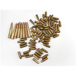 9MM PARA CANADIAN MILITARY AMMO, 9MM LONG GECO AMMO, ASSORTED .303 BRITISH AMMO
