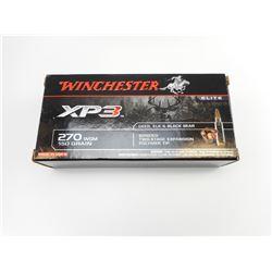 WINCHESTER 270 WSM XP3 AMMO