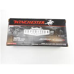 WINCHESTER 325 WSM AMMO