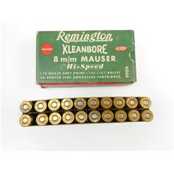 REMINGTON 8MM AMMO