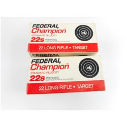CHAMPION 22 LONG RIFLE AMMO