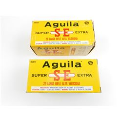 AGUILA 22 LONG RIFLE AMMO