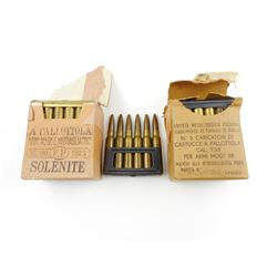 7.35MM AMMO ON STRIPPER CLIPS