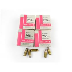 7.65MM AMMO (32 AUTOMATIC)