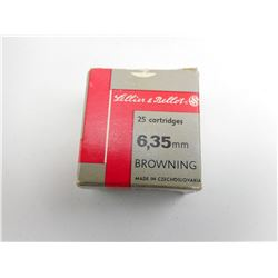 6.5MM BROWNING AMMO