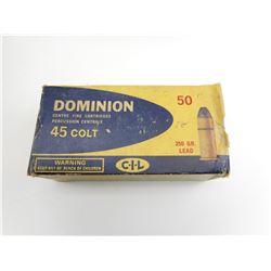 45 COLT AMMO