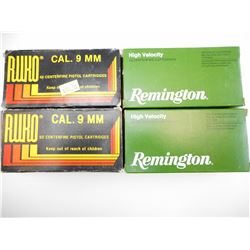 9MM AND 9MM LUGER AMMO