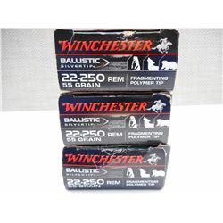 WINCHESTER 22-250 AMMO