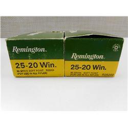 REMINGTON 25-20 WIN AMMO