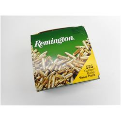REMINGTON 22 LONG RIFLE BRASS PLATED AMMO