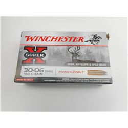 WINCHESTER 30-06 SPRG AMMO