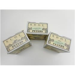 PETERS ASSORTED 12 GA. SHOTGUN SHELLS