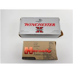 222 REM AMMO, HORNADY, & WINCHESTER