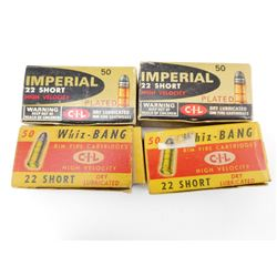 .22 SHORT ASSORTED AMMO