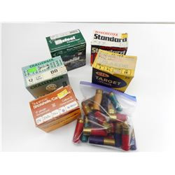 ASSORTED 12 GA. SHOTGUN SHELLS