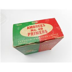 CIL AMORCES NO. 4B SHOTGUN PRIMERS