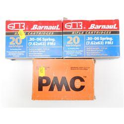 30-06 BARNAUL, & PMC AMMO