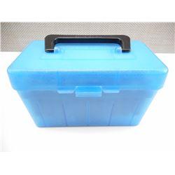 30-06 RELOADED AMMO IN HARD PLASTIC CASE, BRASS