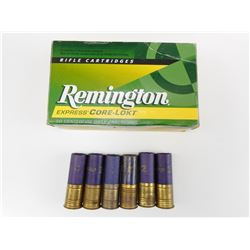 REMINGTON 7MM AMMO, 12 GA AMMO