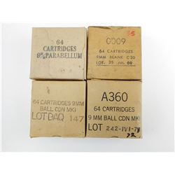 9MM PARABELLUM AMMO, 35 9MM BLANKS