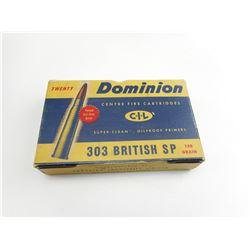 .303 BRITISH SP AMMO