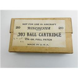 .303 BALL CARTRIDGE AMMO