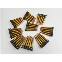 303 BRITISH AMMO ON STRIPPER CLIPS