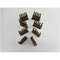 6.5 JAP. AMMO ON STRIPPER CLIPS