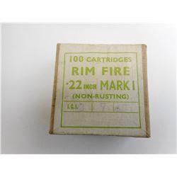 22 CAL. MARK I, AMMO