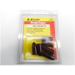 A-ZOOM SNAP CAPS 455 WEBLEY
