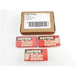 NORMA BULLETS 38 SPECIAL, FEDERAL  .277 TROPHY TIP BULLETS