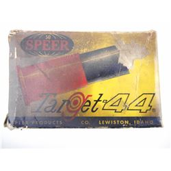 """WADCUTTER"" 44 CAL. PLASTIC BULLETS FOR INDOOR SHOOTING"