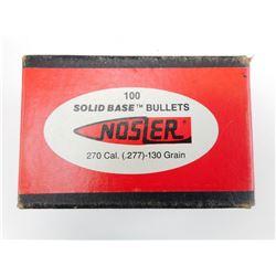 NOSLER 270 CAL (.277) BULLETS