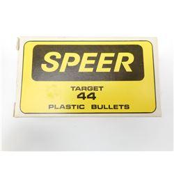 SPEER TARGET 44 PLASTIC BULLETS