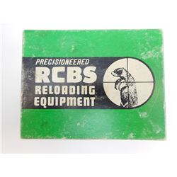 RCBS 38 SPECIAL RELOADING DIES