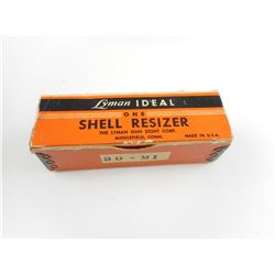 LYMAN SHELL RE-SIZER 30-M1