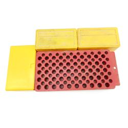 PLASTIC AMMO CASES, PLASTIC LOADING BLOCK